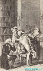 Схематическое изображение полового акта.  Красивые старинные картинки.